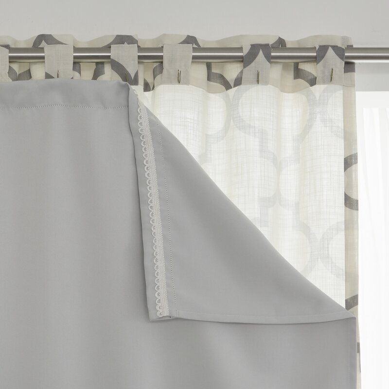 Solid Blackout Thermal Curtain Liners (Set of 2) & Reviews | Joss & Main