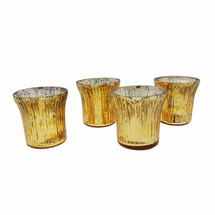 Speckled Evening Decoration Glass Votive Holder (Set of 8)