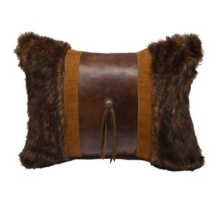 Lopez Faux Fur Lumbar Pillow
