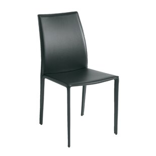 Sienna Leather Upholstered Dining Chair Nuevo