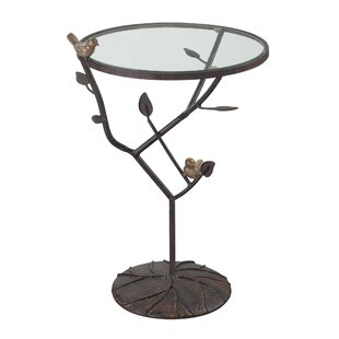 August Grove Despres Birds On A Branch Accent Table