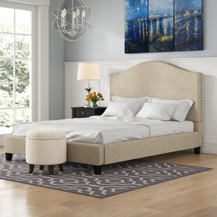 Eidelweiss Upholstered Platform Bed by Three Posts