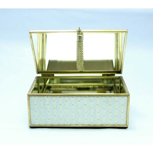 Comparison Rectangle Jewelry Box ByHouse of Hampton