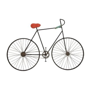 Metal Bicycle Wall Decor