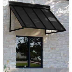 Awntech Houstonian Metal Standing Seam Window Awning