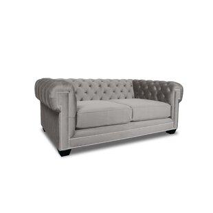 Gauna Plush Deep Chesterfield Sofa