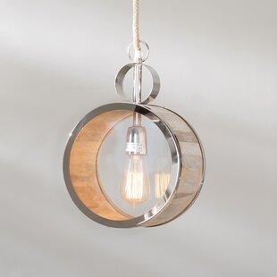 Merri 1-Light Globe Pendant by Ivy Bronx