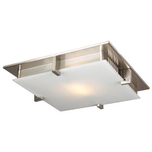 Ivy Bronx Altha 1-Light LED Flush Mount