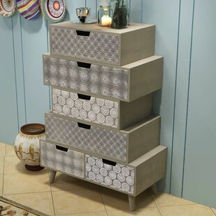 Kashvi 6 Drawer Chest by Bungalow Rose