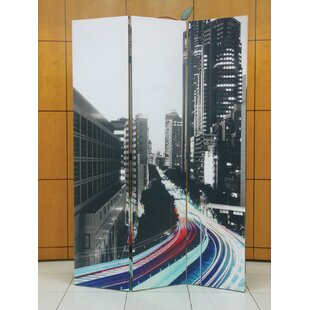 Ebern Designs Bakker 3 Panel Room Divider