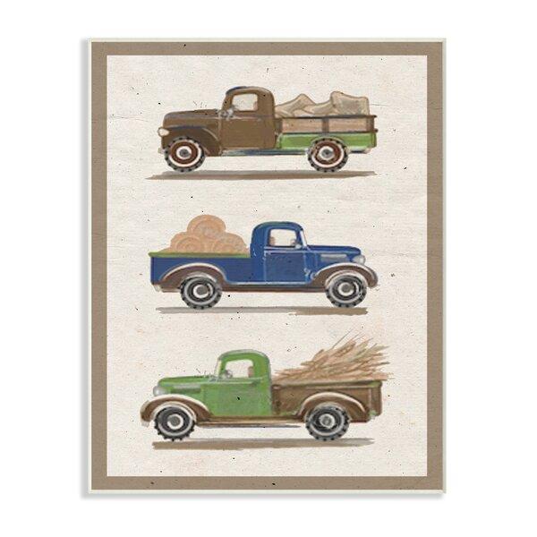 Tractor Wall Art | Wayfair