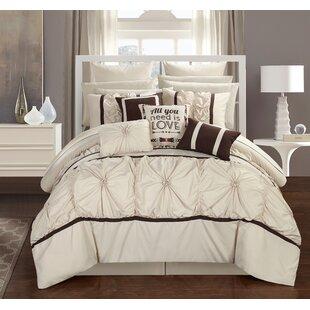 Ashville 16 Piece Comforter Set by Chic Home