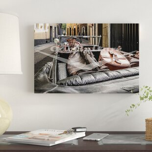 'Spirit of Adventure - Mercedes-Benz 680 S Dashboard' Graphic Art Print on Canvas By East Urban Home