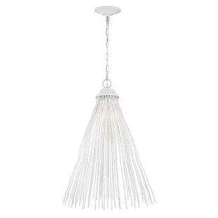 Meredith 1-Light  LED Cone Pendant by Mistana
