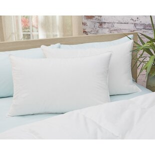 Alwyn Home Firm Down Pillow with Stitched Edges