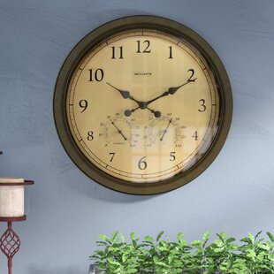 Outdoor Clocks You Ll Love Wayfair