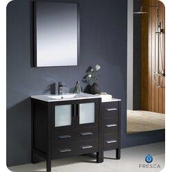 Fresca Torino 42 Single Modern Bathroom Vanity Set With Mirror