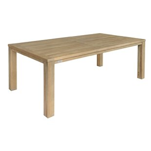Vienna Solid Wood Dining Table by Ivena F..