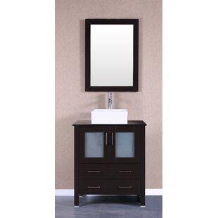 Modena 30 inch  Single Bathroom Vanity Set with Mirror
