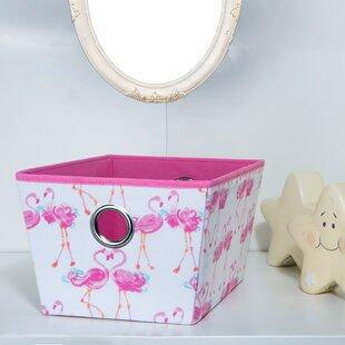 Online Reviews Kids Grommet Storage Fabric Bin ByLaura Ashley