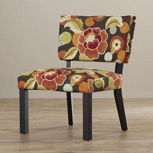 Barragan Floral Print Fabric Slipper Chair by Latitude Run