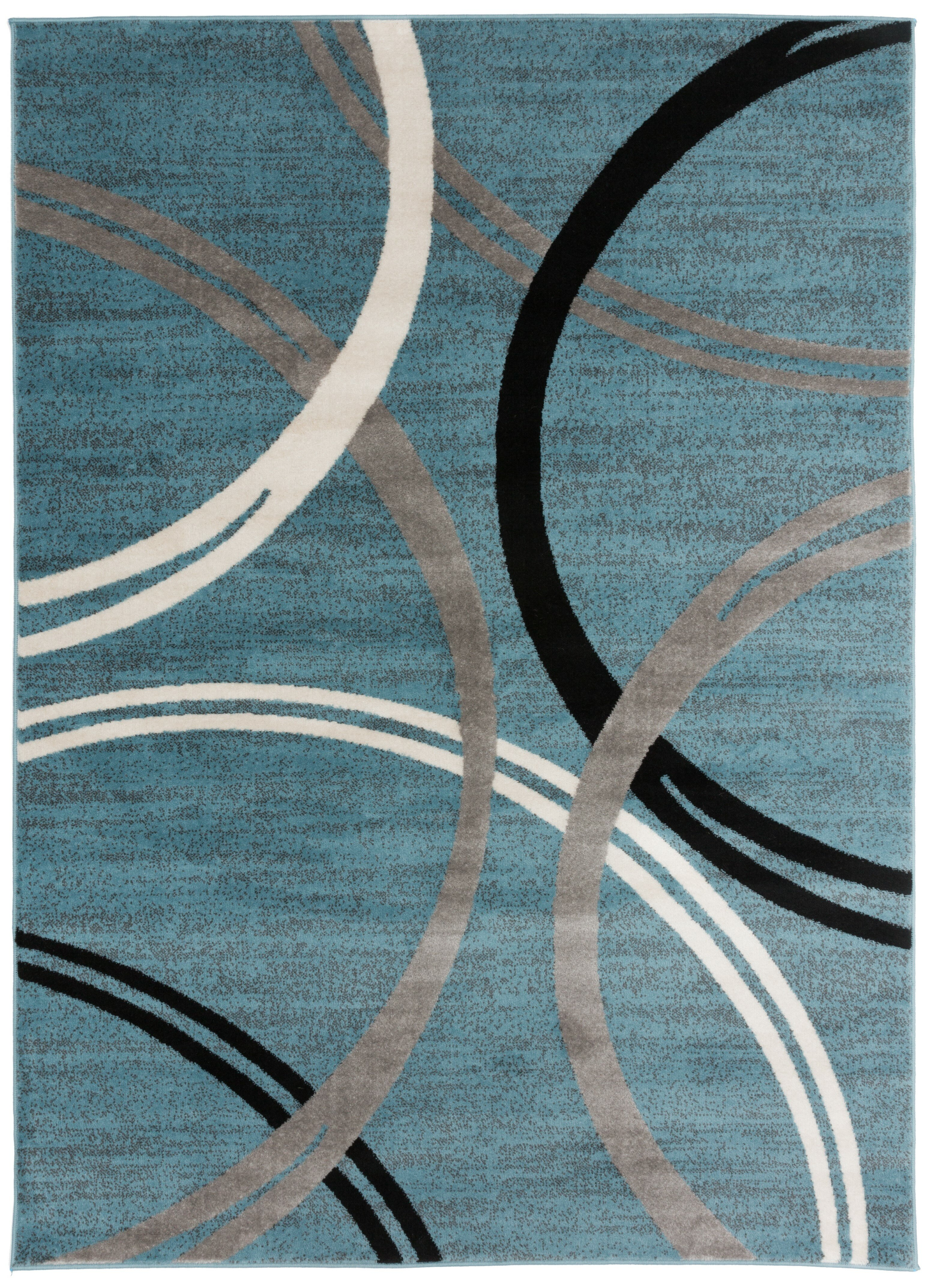 Ebern Designs Neal Abstract Blue Area