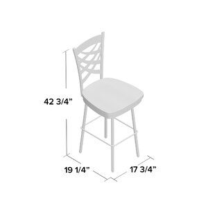 Manhattan 26.38 Swivel Bar Stool