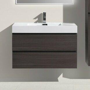Leni 36 Wall-Mounted Single Bathroom Vanity Set ByOrren Ellis
