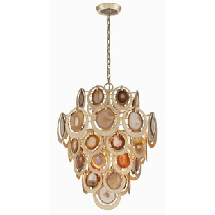 Corbett Lighting Rock Star 10-Light Geometric Chandelier