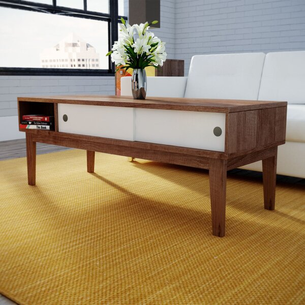 Wrought Studio Lincolnwood Soft Modern Coffee Table Reviews