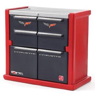 Order Corvette 4 Drawer Double Dresser ByStep2