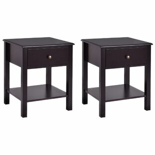 Candi 1 Drawer Nightstand (Set of 2)