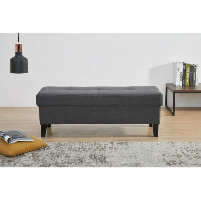 Remarkable Adamite Tufted Storage Ottoman Andrewgaddart Wooden Chair Designs For Living Room Andrewgaddartcom
