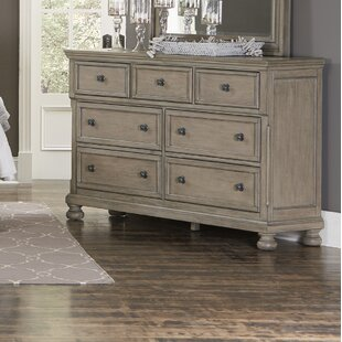 Carleton 7 Drawer Double Dresser by Canora Grey