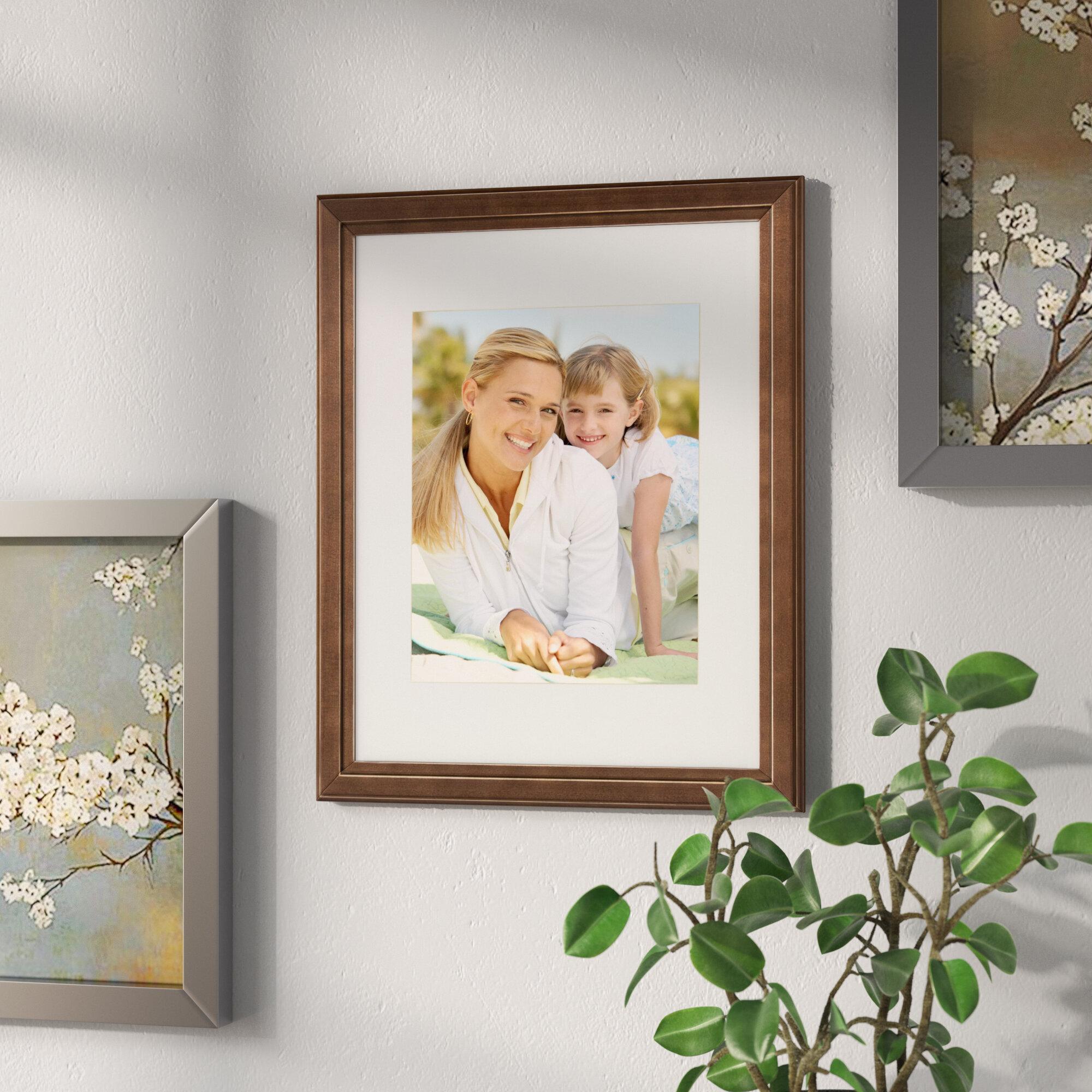 Red Barrel Studio Solid Wood Picture Frame & Reviews | Wayfair