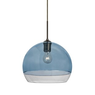 Wrought Studio Emelia 1-Light Dome Pendant