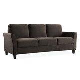 Celestia Microfiber 78.75 Flared Arms Sofa by Andover Mills