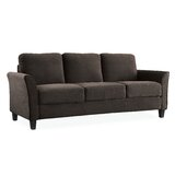 Celestia Microfiber/Microsuede 78.75 Flared Arm Sofa by Andover Mills