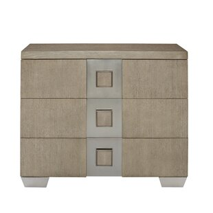Great deal Mosaic 3 Drawer Bachelor's Chest by Bernhardt