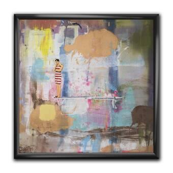 East Urban Home The Unfolding Floater Frame Print On Canvas Wayfair