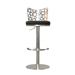 Jester Adjustable Height Swivel Bar Stool