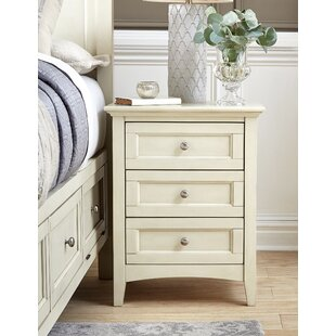 Burris 3 Drawer Nightstand by Alcott Hill 2019 Sale