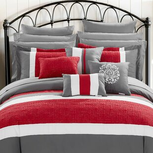 Pisa 16 Piece Reversible Comforter Set