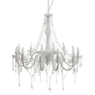 A&B Home 12-Light Candle Style Chandelier