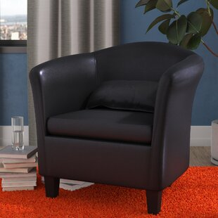 Affordable Price Blume Barrel Chair By Wade Logan