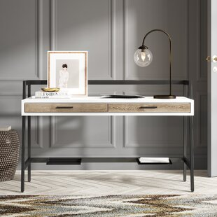 Best Price Frieda Desk ByCanora Grey