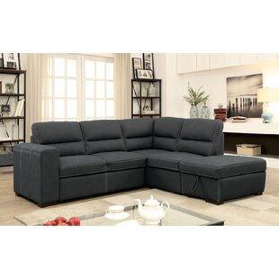 Alberty Sleeper Sectional with Ottoman by Red Barrel Studio