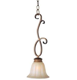 Windle 1-Light Bell Pendant by Fleur De Lis Living