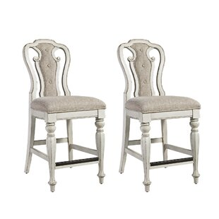 Lark Manor Tiphaine Counter Height Chair (Set of 2)