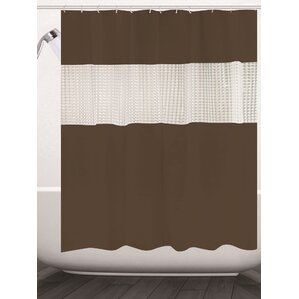 beige and brown shower curtain. Albaugh Peva Shower Curtain Brown Curtains You ll Love  Wayfair